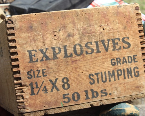 Explosives and Chemicals